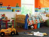 Kids` Rooms Hidden Objects